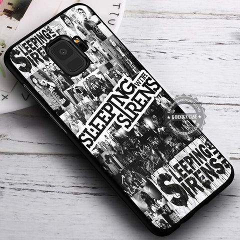 Band Members Collage Sleeping with Sirens - Samsung Galaxy S8 S7 S6 Note 8 Cases & Covers #SamsungS9