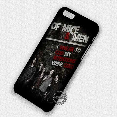 Band Quotes Lyric - iPhone 7 Plus 6 SE Cases & Covers