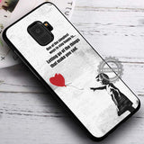Banksy Balloon Girl with Quote - Samsung Galaxy S8 S7 S6 Note 8 Cases & Covers #SamsungS9