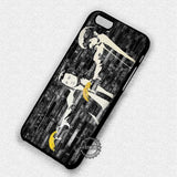 Banksy Pulp Fiction on Brick Wall - iPhone 7 6 5 SE Cases & Covers