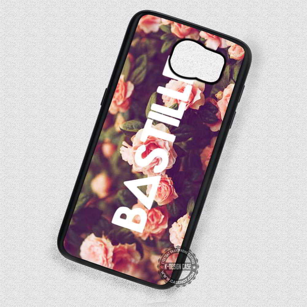 Floral Bastille Triangle Symbol - Samsung Galaxy S7 S6 S5 Note 7 Cases &  Covers