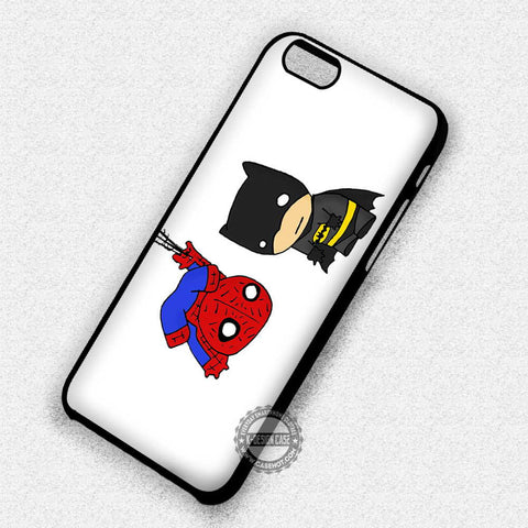 Batman and Spiderman - iPhone 7+ 6+ 5 SE 4 Cases & Covers