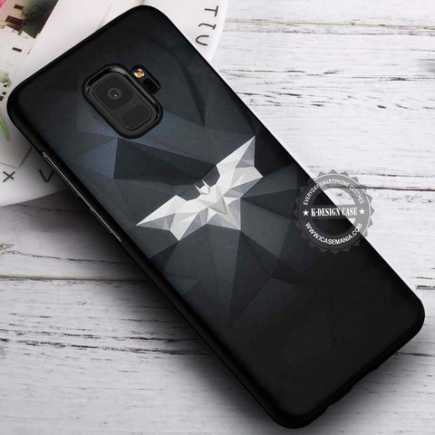 Batman Logo Art Dark Knight - Samsung Galaxy S8 S7 S6 Note 8 Cases & Covers #SamsungS9