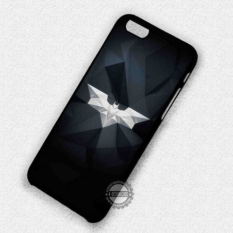 Batman Logo Art - iPhone X 8+ 7 6s SE Cases & Covers