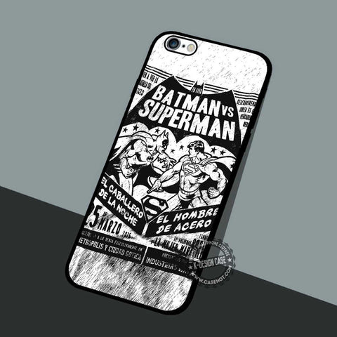 Batman Superman - iPhone 7 6 SE Cases & Covers