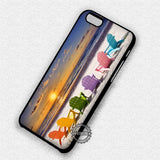 Beach Chairs Sunset - iPhone 7 6 Plus 5c 5s SE Cases & Covers