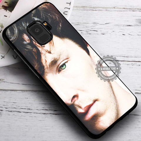 Beautiful Eye Benedict Cumberbatch - Samsung Galaxy S8 S7 S6 Note 8 Cases & Covers #SamsungS9