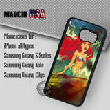 Beautiful Mermaid Ariel - Samsung Galaxy S7 S6 S5 Note 5 Cases & Covers
