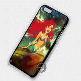 Beautiful Ariel Mermaid - iPhone X 8+ 7 6s SE Cases & Covers