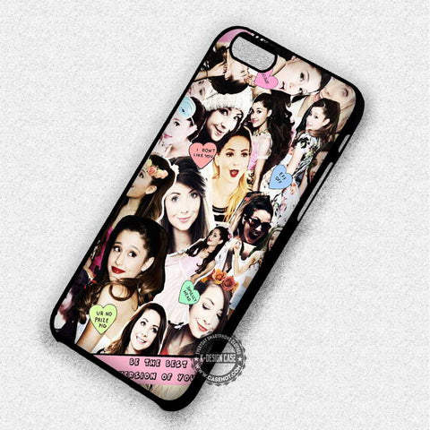 Zoella Collage - iPhone 7 6 Plus 5c 5s SE Cases & Covers