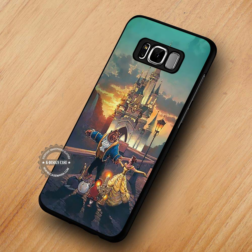 best sneakers f97db 5dfda Beauty and the Beast Painting Disney - Samsung Galaxy S8 S7 S6 Note 8 Cases  & Covers #SamsungS8