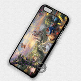 Beauty and the Beast Painting Disney Princess - iPhone 7 6s 5c 4s SE Cases & Covers