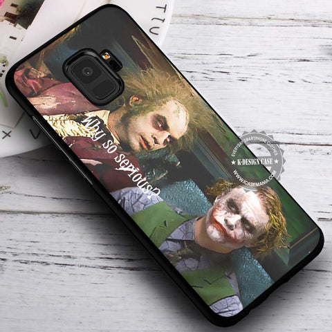 Beetlejuice and Joker Funny - Samsung Galaxy S8 S7 S6 Note 8 Cases & Covers #SamsungS9