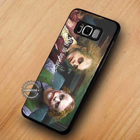 Beetlejuice and Joker Funny Why So Serious - Samsung Galaxy S8 case