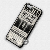 Bellatrix Poster Harry Potter- iPhone 7 6 Plus 5c 5s SE Cases & Covers