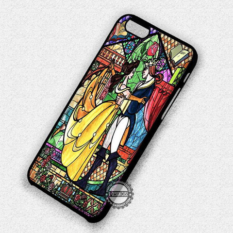 Belle Stained Glass - iPhone 7 6 Plus 5c 5s SE Cases & Covers
