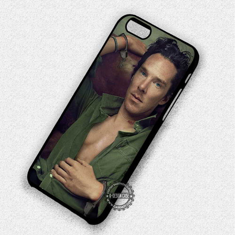 Benedict Cumberbatch Sherlock - iPhone 7 6 Plus 5c 5s SE Cases & Covers