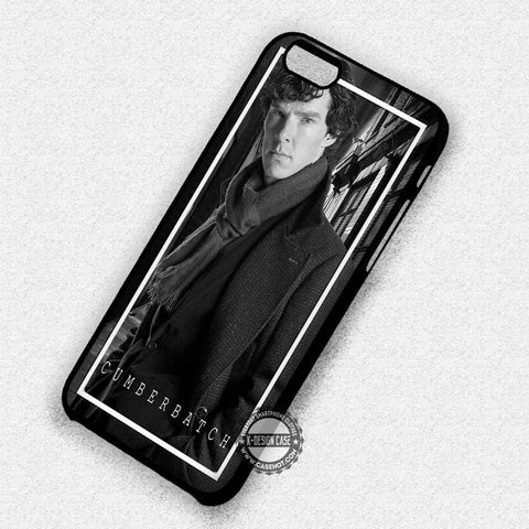 Benedict Cumberbatch Sherlock Holmes - iPhone 7 6 Plus 5c 5s SE Cases & Covers