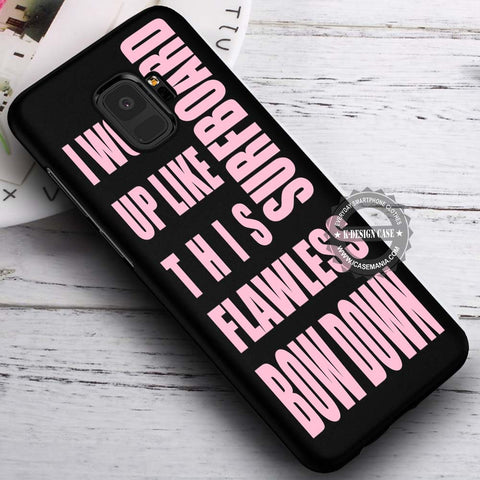 Beyonce Popular Quotes in Black - Samsung Galaxy S8 S7 S6 Note 8 Cases & Covers #SamsungS9