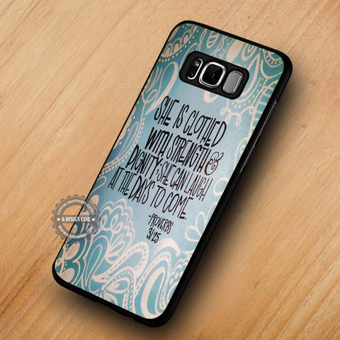 Bible Verse Women Hope - Samsung Galaxy S8 Case