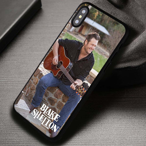 Blake Shelton Music - iPhone X Case