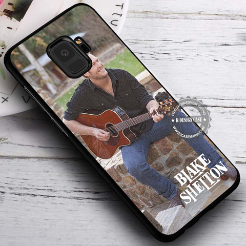 Blake Shelton Music - Samsung Galaxy S8 S7 S6 Note 8 Cases & Covers #SamsungS9