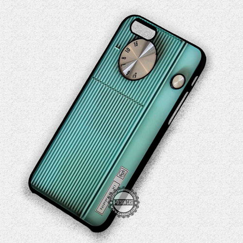 Blue Retro Radio - iPhone 7 6 Plus 5c 5s SE Cases & Covers