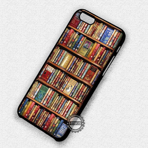 Bookshelf Vintage Harry Potter - iPhone 7 6 Plus 5c 5s SE Cases & Covers