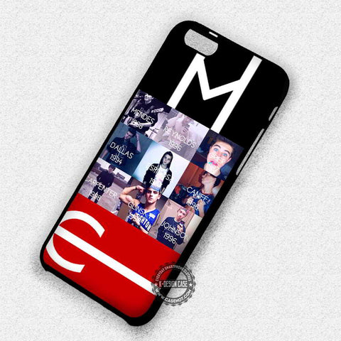 Born Year Magcon Boys - iPhone 7 6 Plus 5c 5s SE Cases & Covers