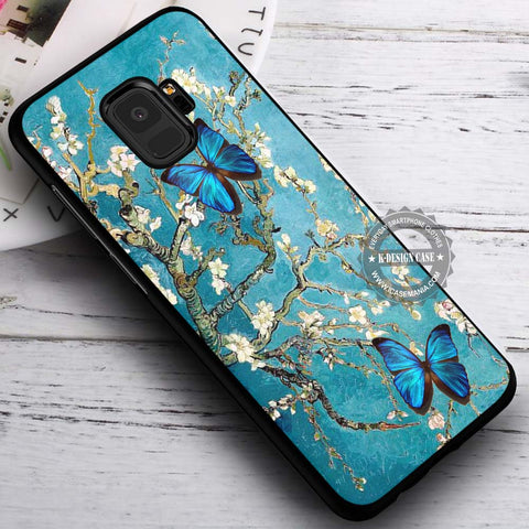 Branches of an Almond Tree Butterfly - Samsung Galaxy S8 S7 S6 Note 8 Cases & Covers #SamsungS9