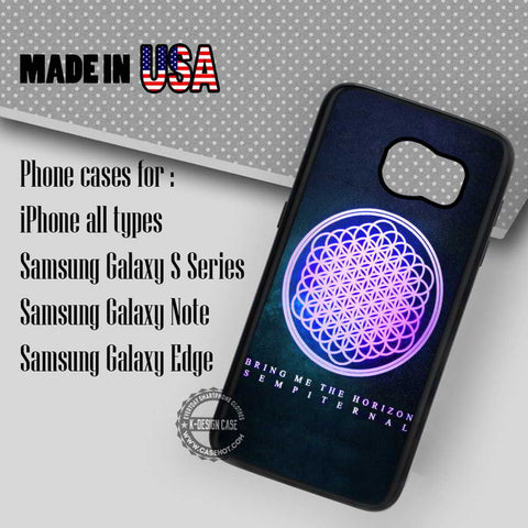 Bring Me The Horizon Sempiternal - Samsung Galaxy S7 S6 S5 Note 5 Cases & Covers