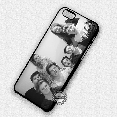 British Youtubers Black White - iPhone 7 6S SE 4 Cases & Covers
