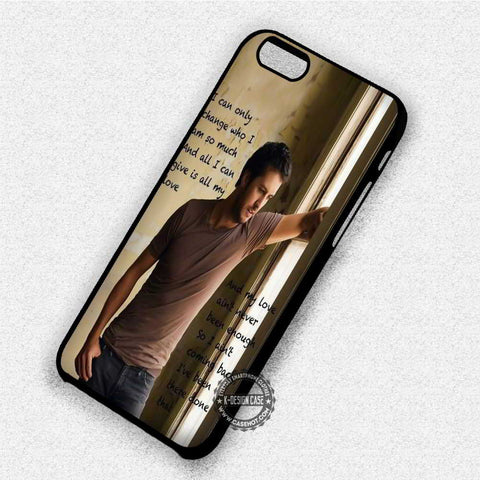 Quotes Luke Bryan - iPhone X 8+ 7 6s SE Cases & Covers