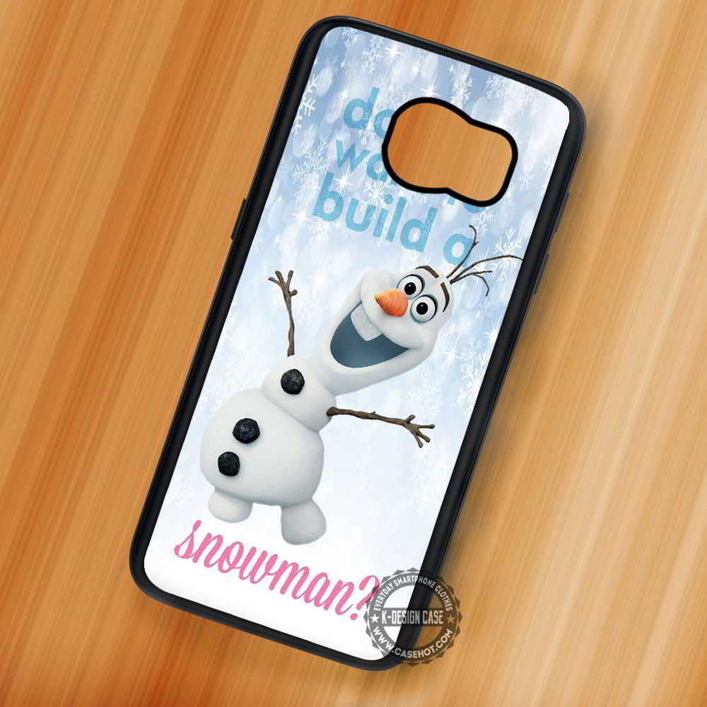 Build a Snowman Olaf Christmas - Samsung Galaxy S7 S6 S5 Note 7 ...