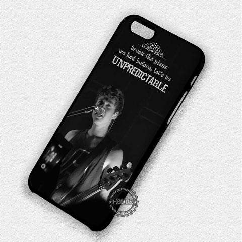 Calum Hood Lyric Quote - iPhone 7 6S 5 SE 4 Cases & Covers