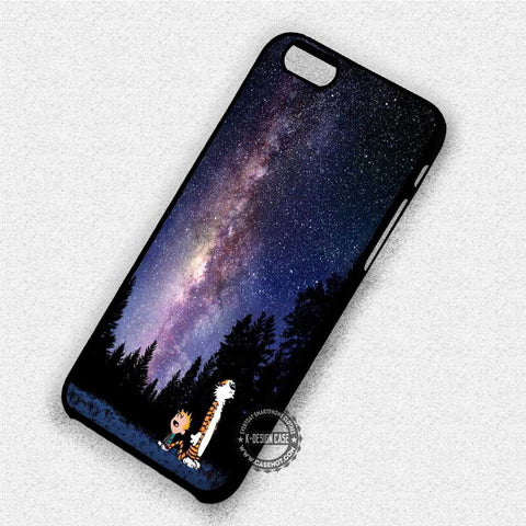 Calvin and Hobbes Nebula - iPhone 7 6 Plus 5c 5s SE Cases & Covers