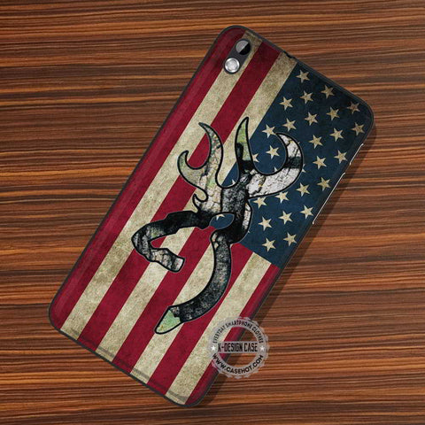 Camo Browning American - LG Nexus Sony HTC Phone Cases and Covers
