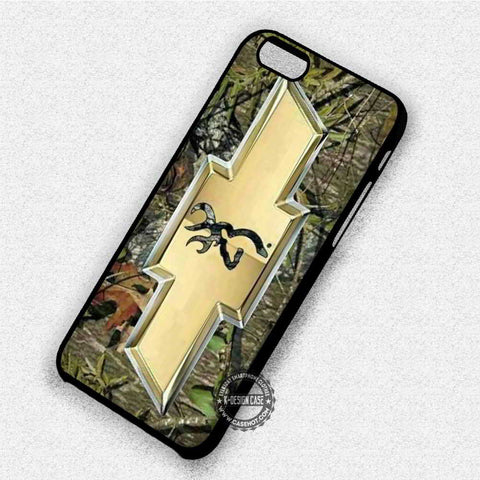 Camo Browning Chevrolet - iPhone 7 6 Plus 5c 5s SE Cases & Covers