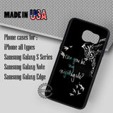 Demi Lovato Lyric - Samsung Galaxy S7 S6 S5 Note 5 Cases & Covers