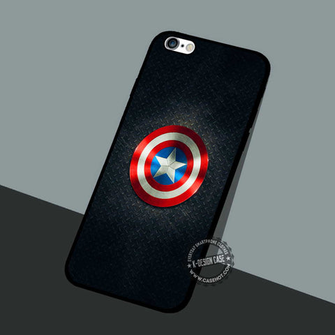 Captain Shield Symbol - iPhone 7 6 Plus Cases & Covers