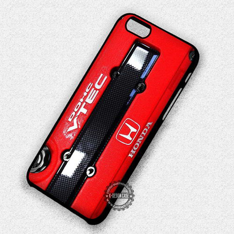 Car Red Front JDM Honda - iPhone 7 6s 5c 4s SE Cases & Covers