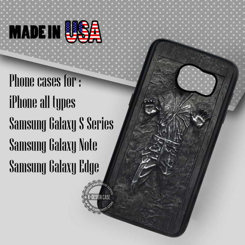 Carbonite Han Solo Star Wars - Samsung Galaxy S7 S6 S5 Note 5 Cases & Covers