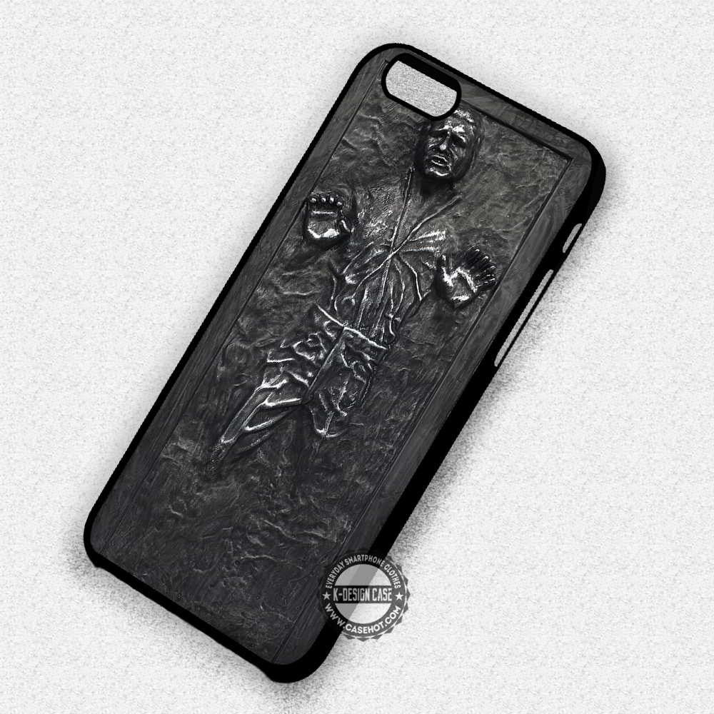 Carbonite Han Solo R2D2 - iPhone 8+ 7 6s SE Cases & Covers