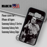 Johnny Cash John R - Samsung Galaxy S7 S6 S5 Note 5 Cases & Covers