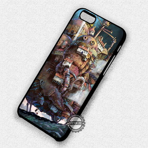 Howl Moving Castle - iPhone 7 6 Plus 5c 5s SE Cases & Covers