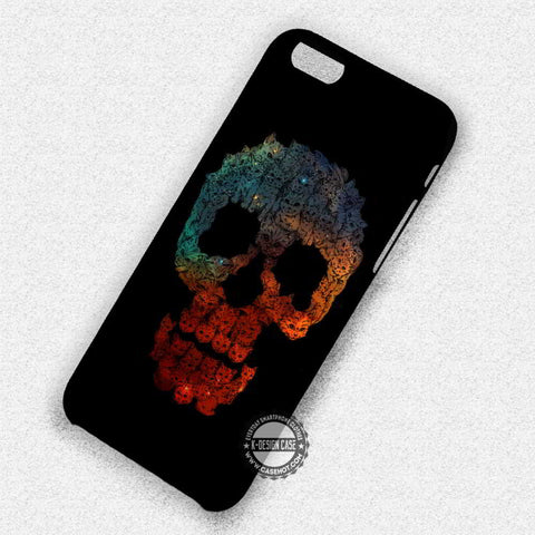 Cat Skull Nebula - iPhone 7 6 Plus 5c 5s SE Cases & Covers