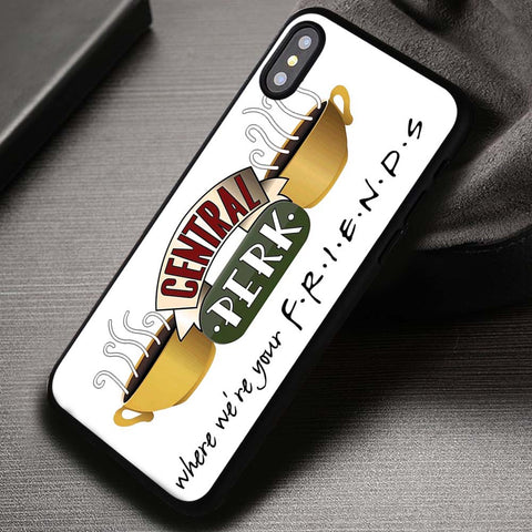 Central Perk Friends TV Series Pretty Little Liars - iPhone X Case