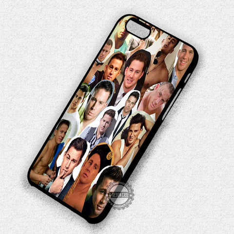 Channing Tatum Collage - iPhone 7 6 5 SE Cases & Covers