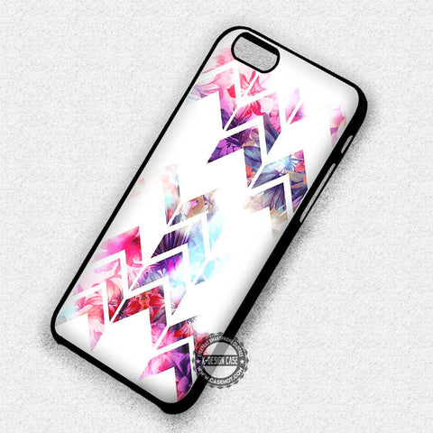 Chevron Geometric Flower - iPhone 7 6S SE 4 Cases & Covers
