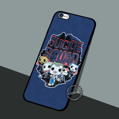 Chibi Suicide Squad - iPhone 7 6 5 SE Cases & Covers